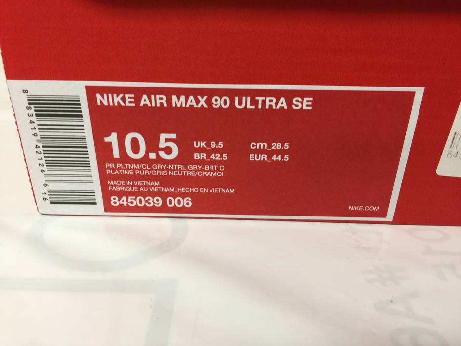 37b403091d5 Nike Air Max 90 Ultra SE  Infrared  Size 10.5 - Low-Top Sneakers for ...