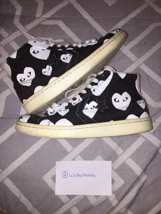 8ea7b838cd9909 Converse CDG Pro Leather Hi Black Size 10 - Hi-Top Sneakers for Sale ...