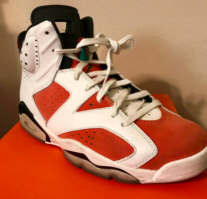 6f8e9dcc368 Nike Nike Air Jordan 6 Retro Gatorade Orange Style Size 8.5 Size US 8.5   EU