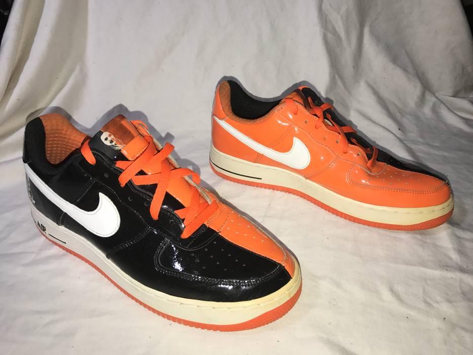 official photos 4cc56 7cc40 Nike OG NIKE AIR FORCE 1 LOW HALLOWEEN RARE QS LIMITED VTG VINTAGE BLACK  WHITE ORANGE