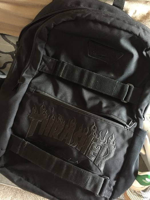 Vans Vans x Thrasher Black Backpack Size one size - Bags   Luggage ...