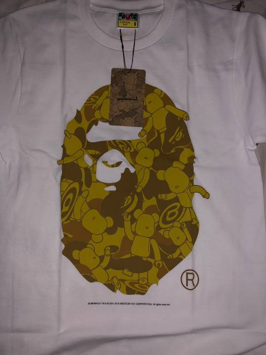 bb640d373 Bape Bape Ape Head Tee Size s - Short Sleeve T-Shirts for Sale - Grailed