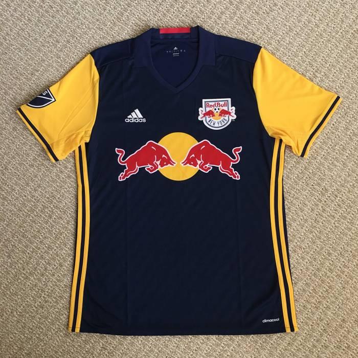 fbbe1e8fd Adidas New York Red Bulls Away Adidas Soccer Jersey Size l - Jerseys ...