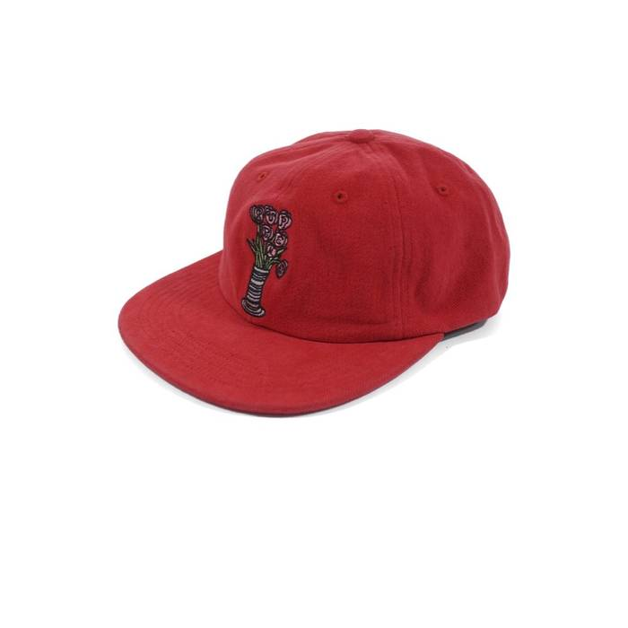 Supreme Supreme Flower 6 Panel Cap (Red) Size one size - Hats for ... 449fa0c9562