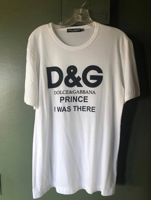 be06eee52a39 Dolce   Gabbana Prince I Was There Runway T-shirt Size m - Short ...