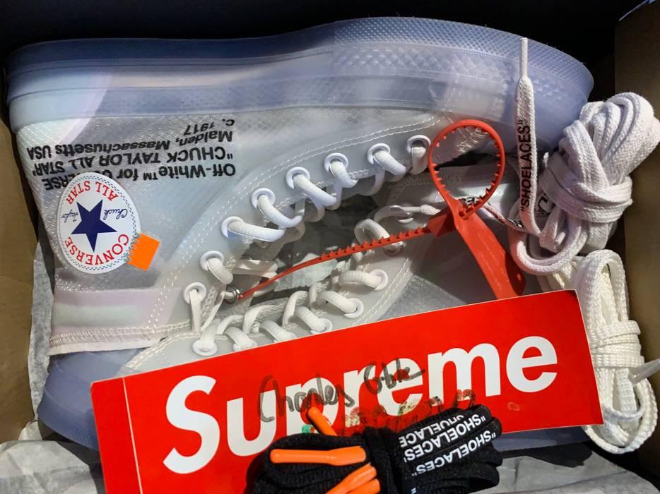 Nike Converse Off White Chuck Taylor Size 7.5 - Hi-Top Sneakers for ... deb1dd5e7