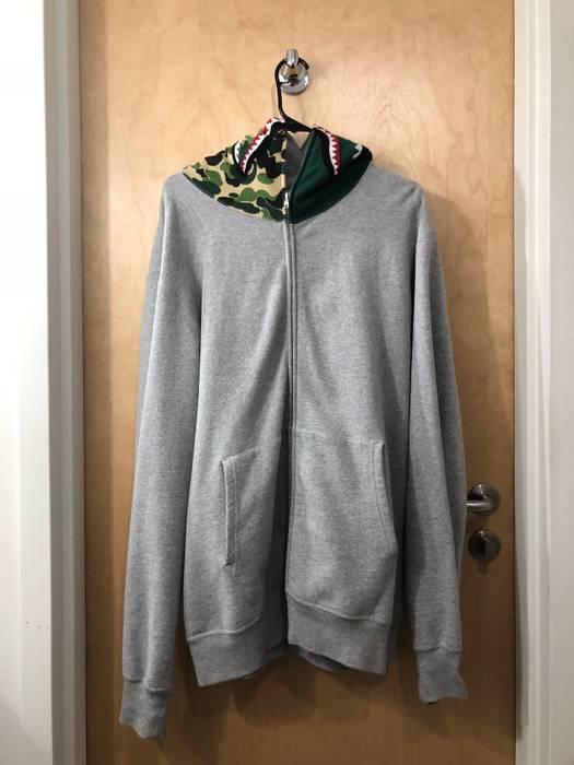Bape Bape X Flat Hat Club Shark Zip Up Hoodie Size Xxl Sweatshirts