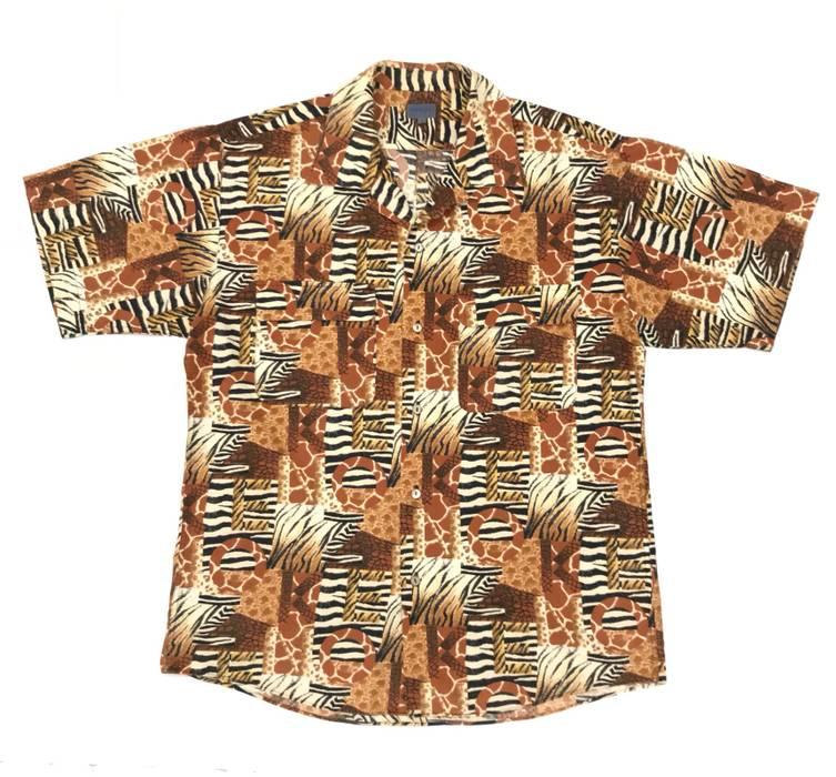 571791b6 Kenzo Hawaii Shirt Tiger Striped Leopard Print Size m - Shirts ...