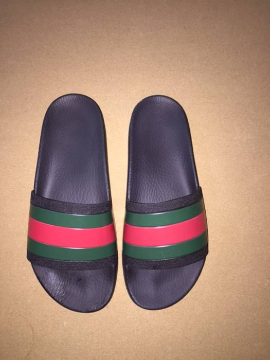 01e93740f36 Gucci Gucci Pursuit 72 Rubber Slides - Black - Size 8 Size 8 - Slip ...