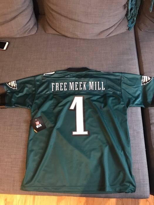 Nfl NFL Philadelphia Eagles Free Meek Mill Jersey Size xl - Jerseys ... f2256e132