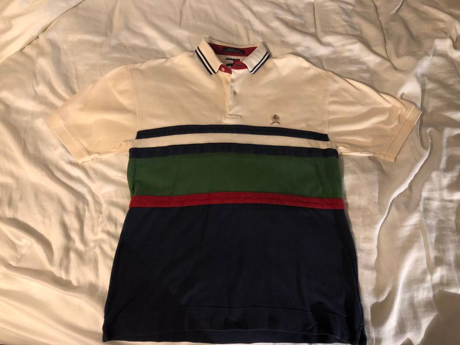 c0573a901 Vintage Vintage Tommy Hilfiger Polo Size l - Polos for Sale - Grailed