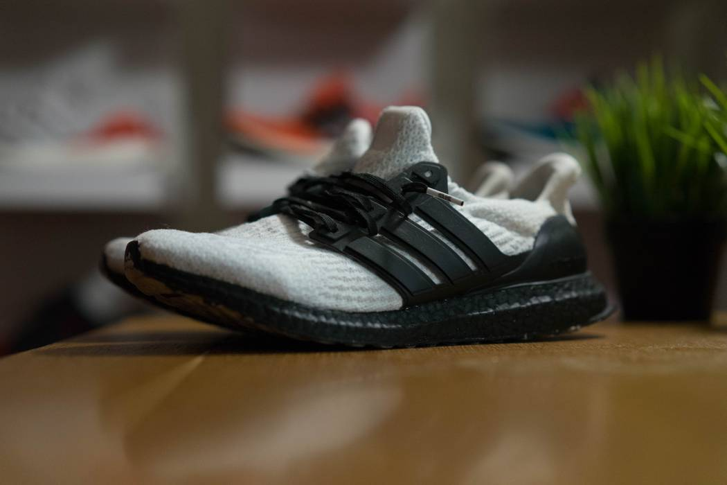 4f3f4b61a29 Adidas adidas Ultra Boost 3.0 Triple White  Customs  Size 10.5 - Low ...