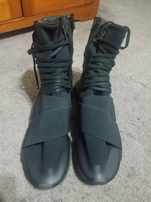 d24cb100ca7a5 Y-3 Y3 Qasa Boot Triple Black Size 12.5 - Hi-Top Sneakers for Sale ...