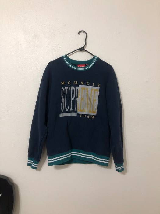 181708e9050a Supreme Supreme Team MCMXCIV crewneck Size l - Sweaters   Knitwear ...