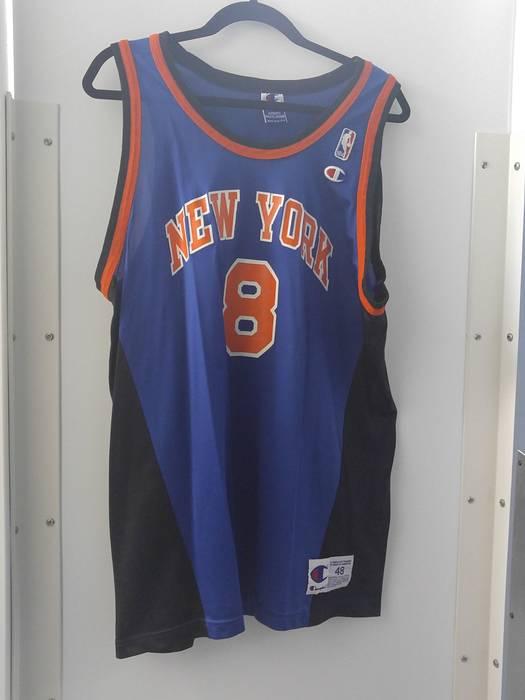 cbc62d252 Champion Final drop New York Knicks Latrell Sprewell jersey Size xl ...