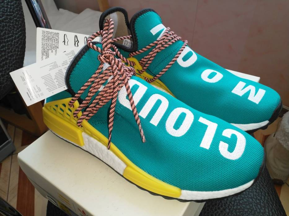 5ac7189c5f296 Adidas Adidas Pharrell Williams Human Race NMD sun glow Size US 10   EU 43