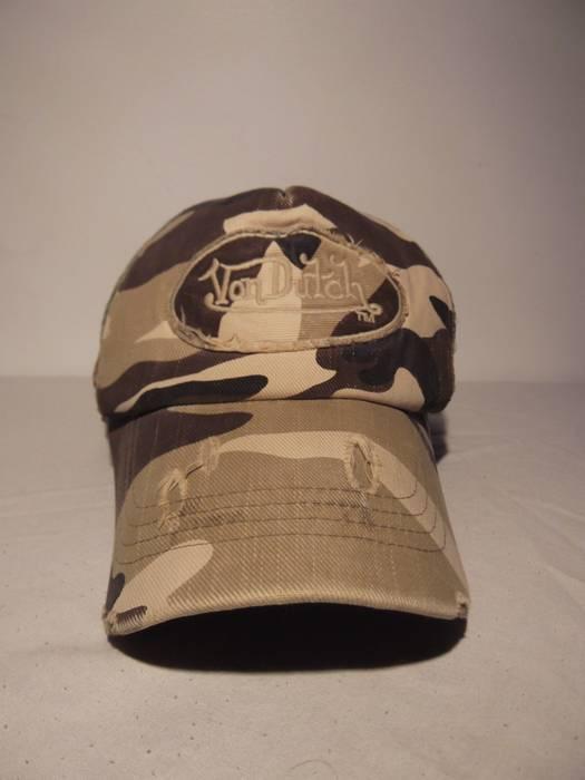 4294cbeccc0 Von Dutch Vintage Von Dutch Camo Trucker hat Size one size - Hats ...