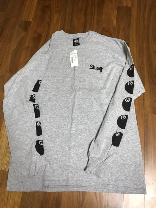 075742d00b12 Stussy 8 ball t shirt Size l - Long Sleeve T-Shirts for Sale - Grailed