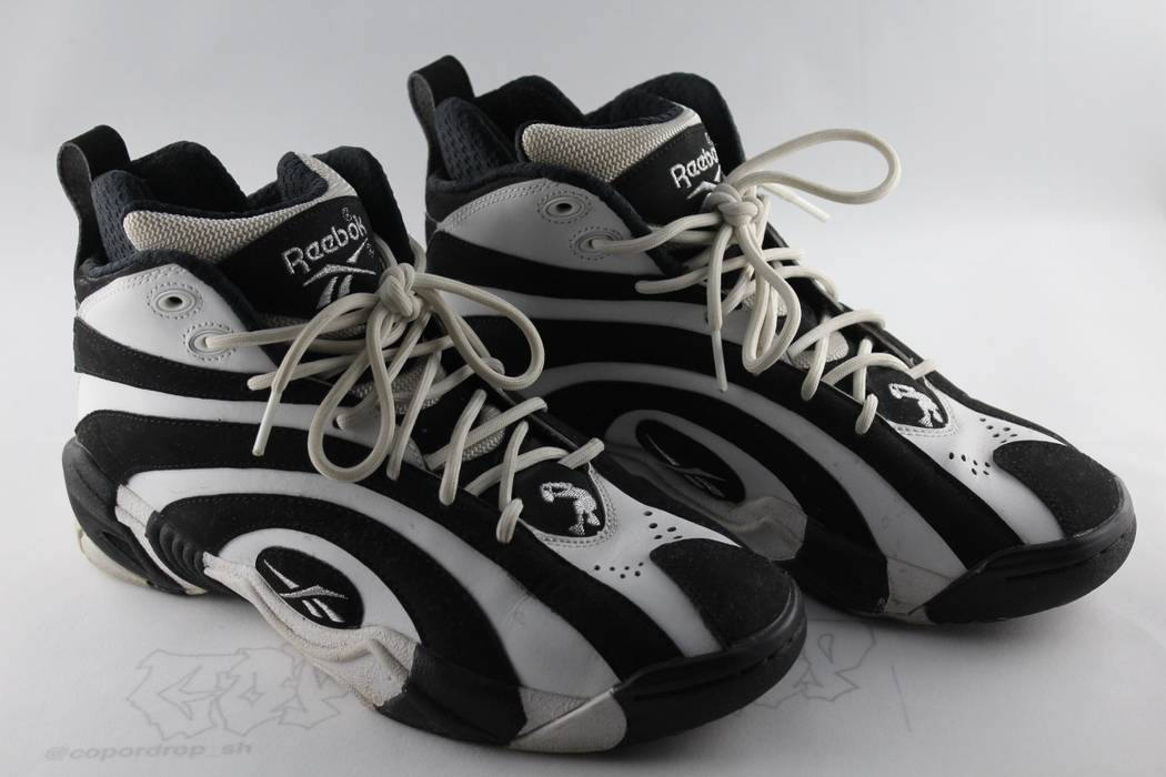 70489aaf7ec Reebok Shaqnosis Black And White Size 8 - Reebok Of Ceside.Co