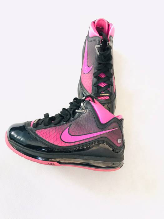 f9fde226eaaff4 Nike Nike Lebron VII Black Pink Size 6 - Hi-Top Sneakers for Sale ...