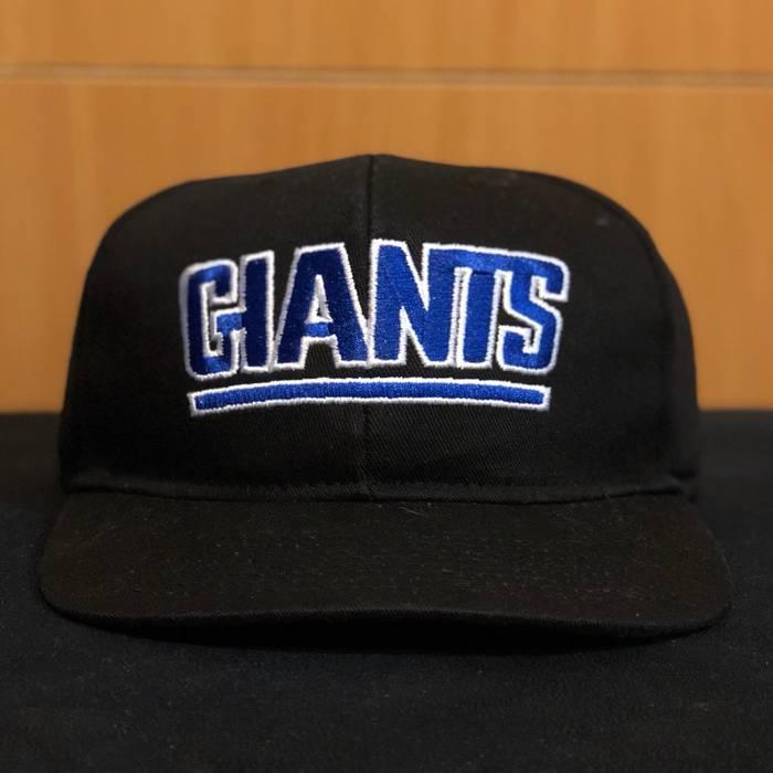 b832493fed4 Vintage Vintage 90s Starter New York Giants NFL SnapBack Hat Black G Men  Football Size ONE
