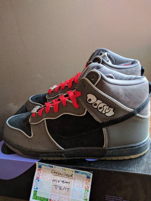 Nike MF DOOM Nike Dunk High Premium SB Size 10 - Hi-Top Sneakers for ... 8e032927c0bb