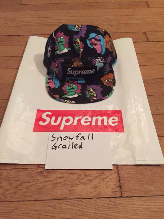 66d072121f2 Supreme Supreme Gonz Heads Camp Cap Black Size one size - Hats for ...