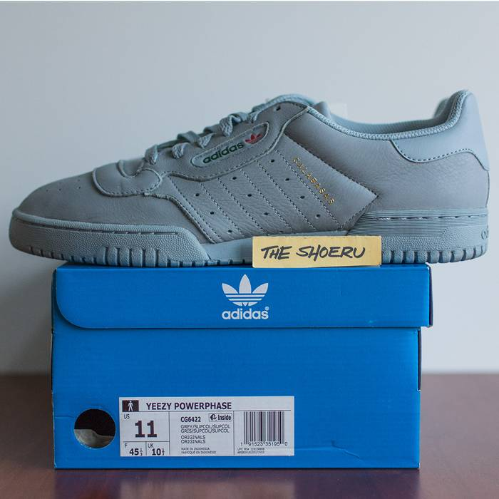 a9db9bd38a4c0 Adidas Yeezy PowerPhase Grey (CG6422) Size 11 - Low-Top Sneakers for ...