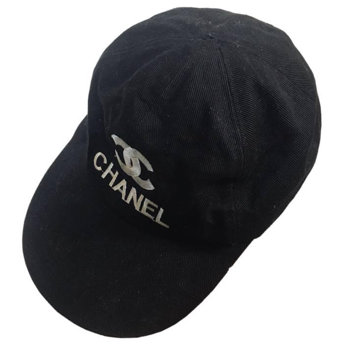 Chanel Vintage CHANEL Paris Classic Logo CC Cap Hat Embroidery Luxury  Designer Size ONE SIZE 522eacebb57