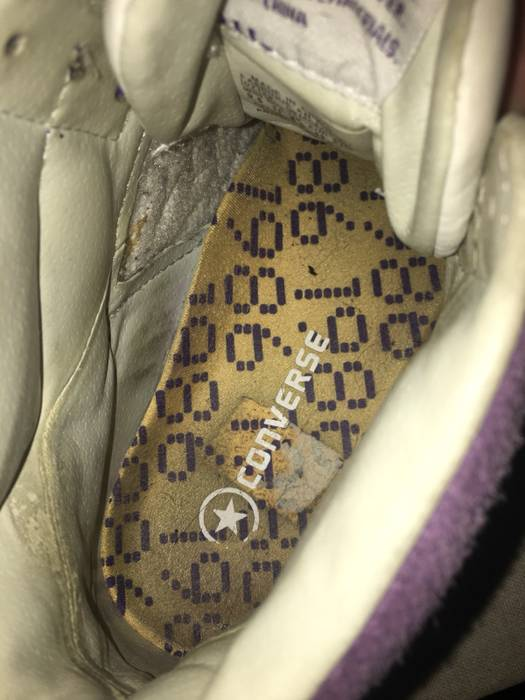Converse 1986 Showtime Lakers Magic Johnson Converse Weapon Trainers Size  US 9.5   EU 42- cf187a731