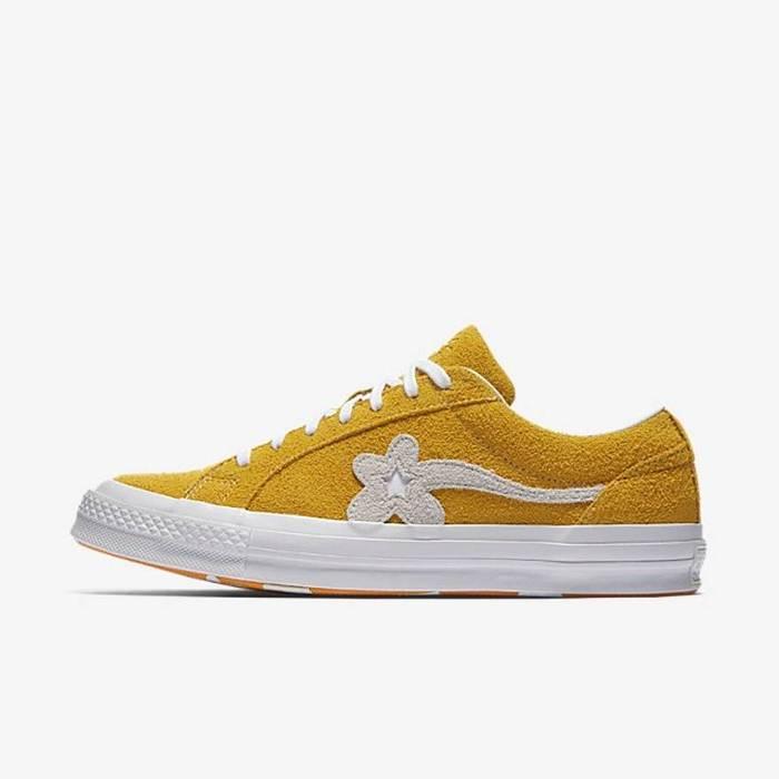 81d075bf521 Converse Odd Future Golf Wang Le Fleur Suede Sneaker Shoes Size US 10   EU