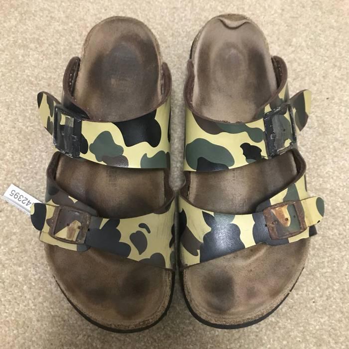 Bape Yellow Bape x Tatami Birkenstock Size 8.5 - Sandals for Sale ... 5a629cbb43