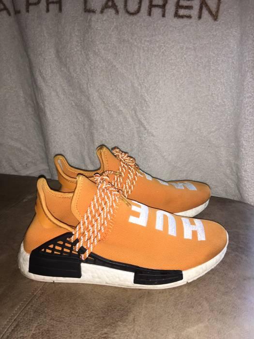 094b7703a Pharrell Pharrell x Adidas NMD Human Race-Tangerine Size 10 - Low ...