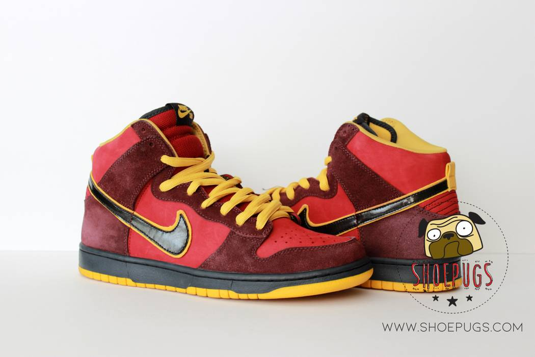 Nike 2010 Nike Dunk SB High Iron Man Size 9.5 - Hi-Top Sneakers for ... 079343bd11