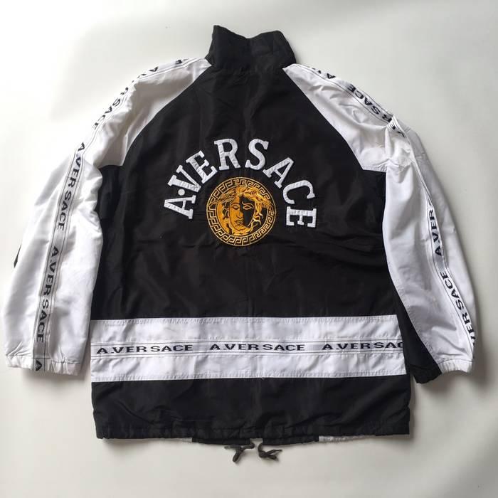 8e456ea8eb0 Versace Vintage A. Versace Windbreaker Jacket Embroidery Head not ...