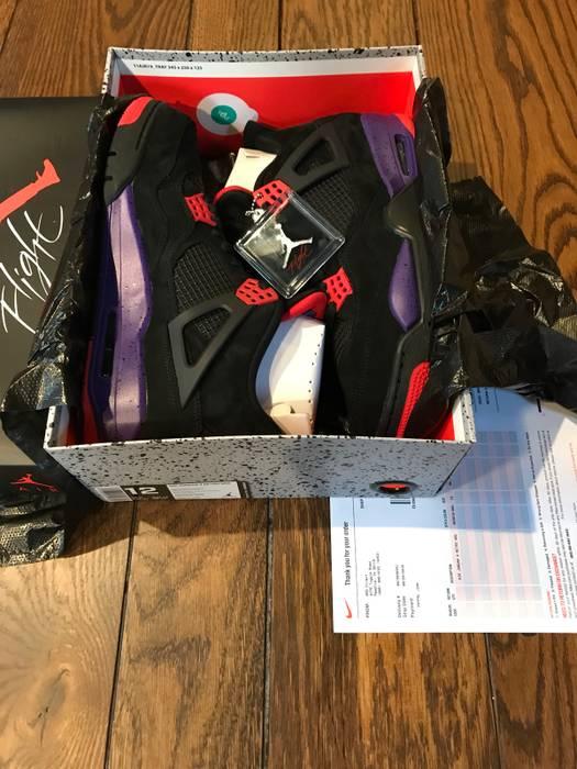 """deb3906f7c8e7a Jordan Brand Air Jordan 4 Retro Raptors """"Drake"""" Size 12 - Low-Top ..."""