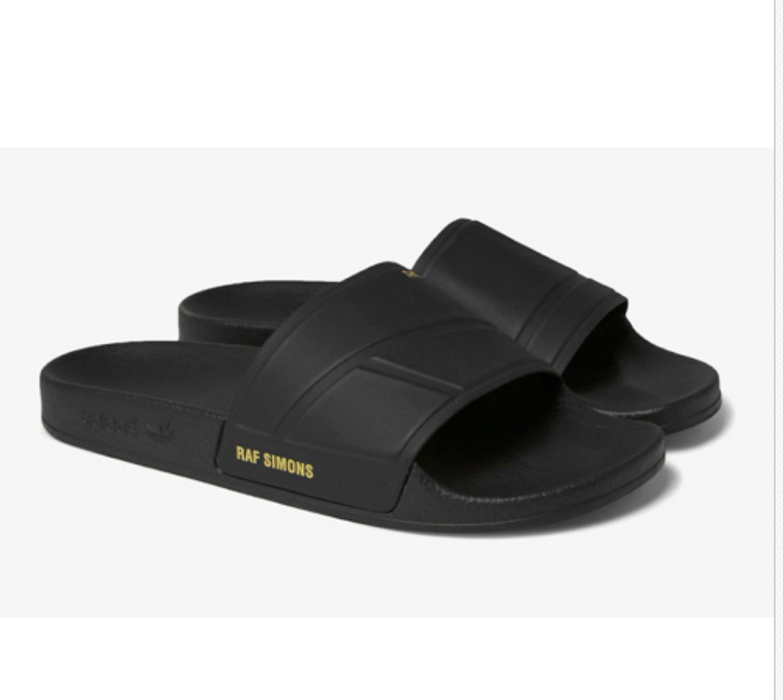 2f5f28109db27 Adidas Raf Simons x Adidas Adilette Bunny Sandal BLACK Retail  170 Size US 7    EU