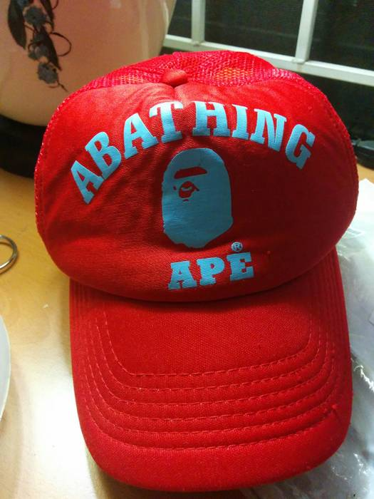 Bape Vintage A Bathing Ape trucker hat Size one size - Hats for Sale ... dbc69256c32