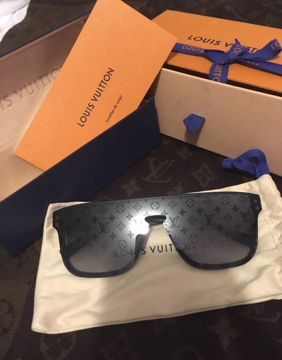 6520c40e27d9 Louis Vuitton Authentic Louis Vuitton Paris Monogram Waimea Blue Sunglasses  from LV menswear Spring Summer 2018