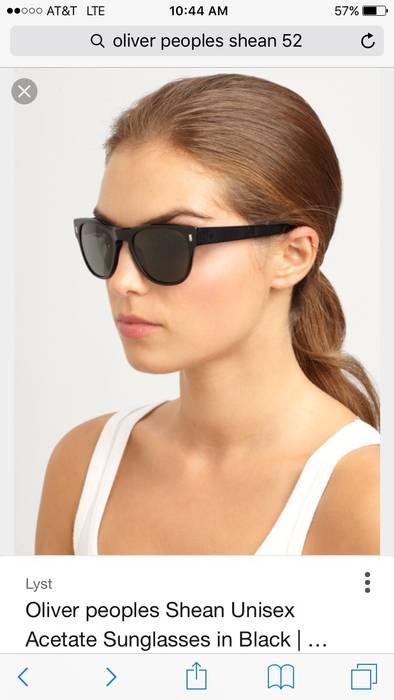 fe6972603e Oliver Peoples Shean 52 Black Polarized Sunglasses Size ONE SIZE - 11