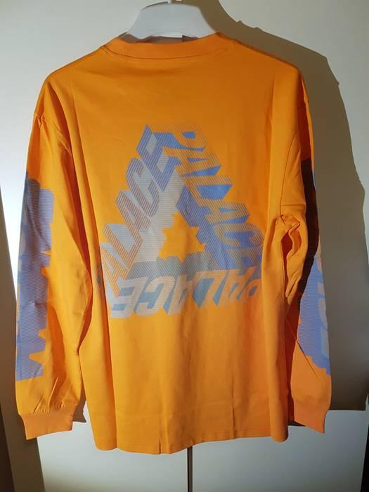 f63fb26f861a Palace Palace P-3d Longsleeve Orange M Size m - Long Sleeve T-Shirts ...