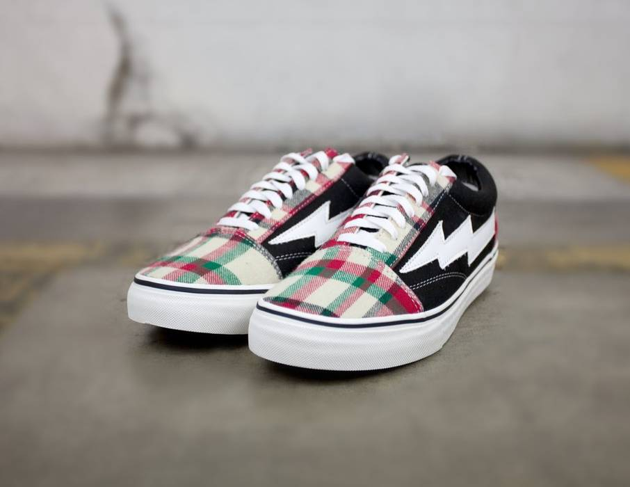 Revenge X Storm Revenge X Storm Plaid Black Shoes Vans Size 9 - Low ... 16603040f