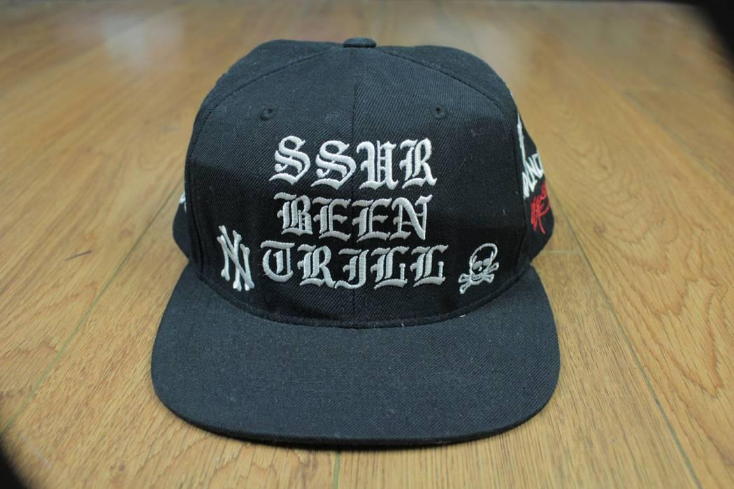 49e09488b5b Ssur Been Trill x SSUR New York Snapback Misfits Tendencies Black Snapback  Hat Panel Adjustable Size