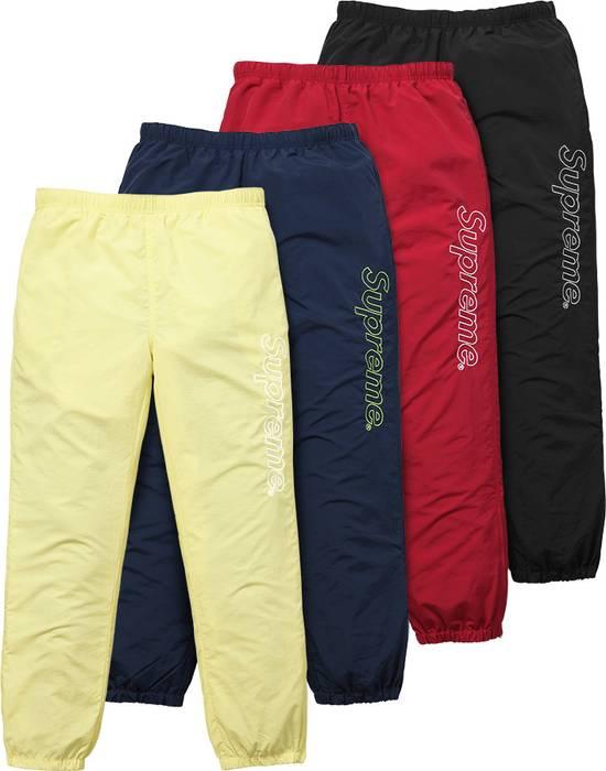 605bde4b15e8 Supreme Supreme Nylon Track Pants in Yellow Size 31 - Sweatpants ...