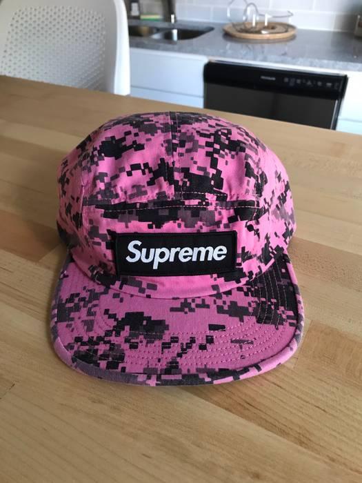 81aebe7429f Supreme Supreme Camp Cap Pink Digi Camo Size one size - Hats for ...