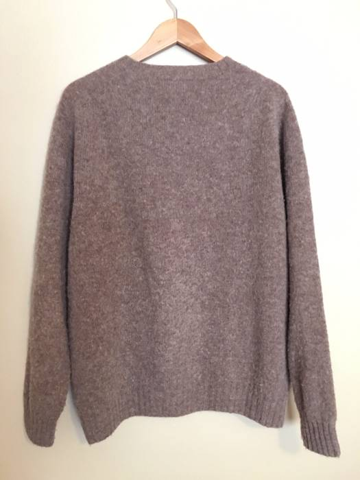80598a6544 Harley Of Scotland Nutmeg Brushed Shetland Crewneck Sweater XL Size US XL    EU 56