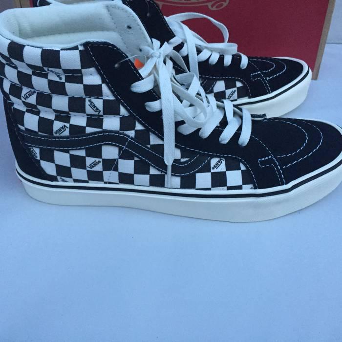 4abf7d7690f85d Vans Vans SK8 Hi Checkerboard Logo Ortholite Size US 13   EU 46 - 2