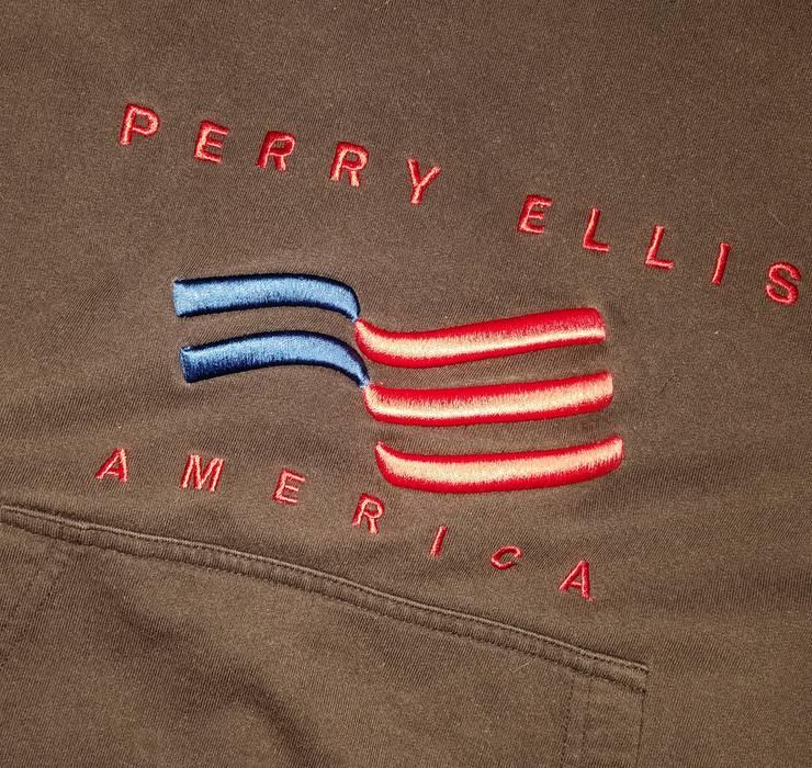 d35f63137a Perry Ellis Perry Ellis American Flag Black Hoodie