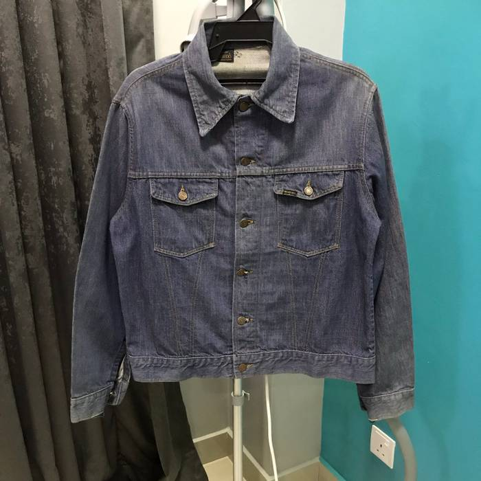 2758398e7c Vintage Vintage 60s Sears Roebucks Selvedge Denim Jacket Size US M   EU  48-50