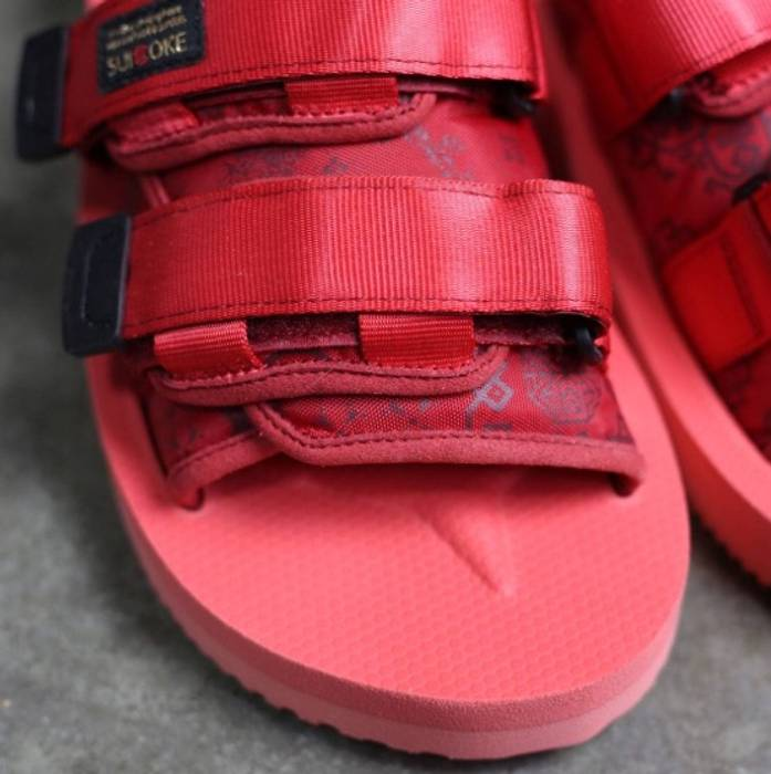 804045679b59 Suicoke Suicoke x CLOT Red Moto Sandal Size 10 - Sandals for Sale ...